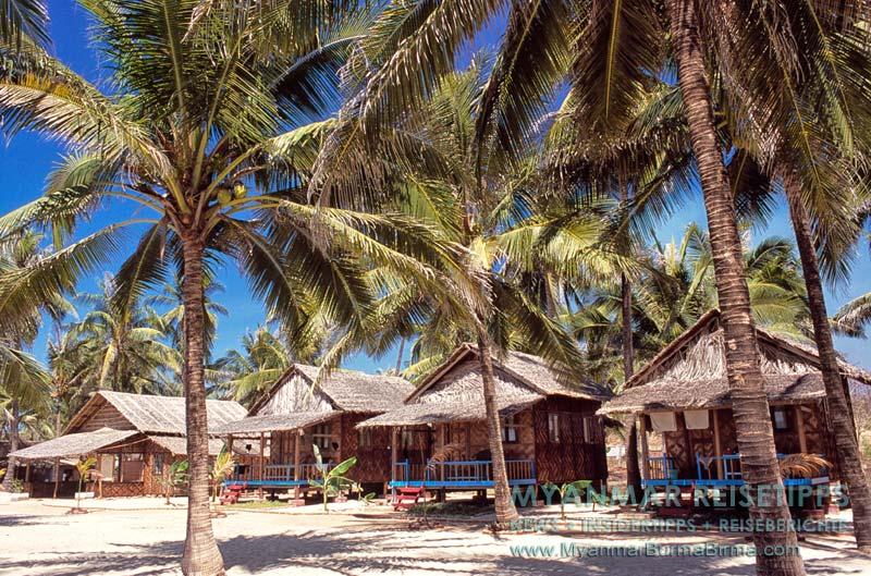 Myanmar Reisetipps | Ngwe Saung Beach (Silberstrand) | Shwe Hin Tha Hotel