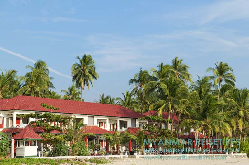 Myanmar Reisetipps   Ngwe Saung Beach (Silberstrand)   Yamonnar Oo Resort