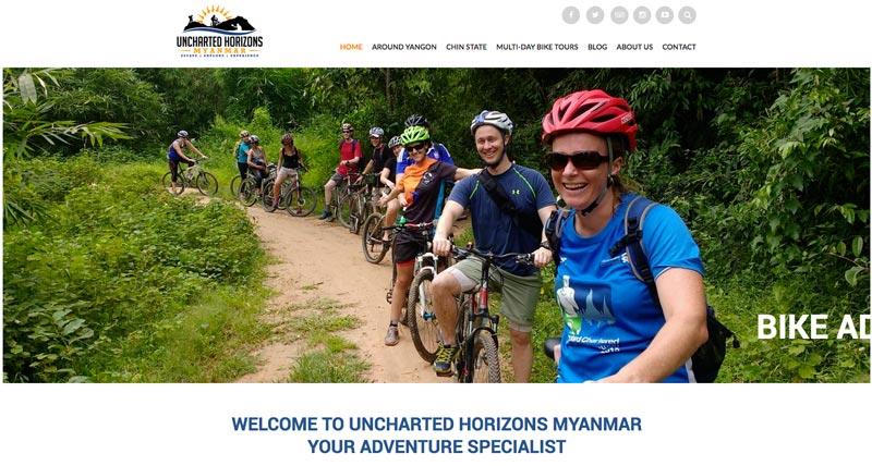 Startseite von Unchartered Horizons Myanmar