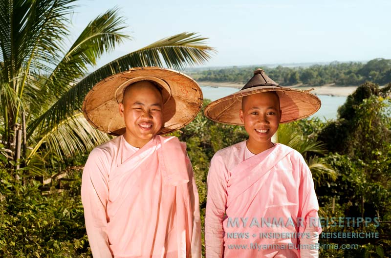 Myanmar Reisetipps | Bhamo | Nonnen vom Kloster Thein Hpa
