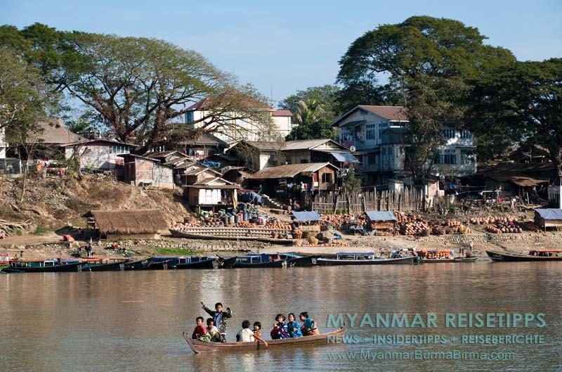 Myanmar Reisetipps | Bhamo | Ayeyarwady-Fluss
