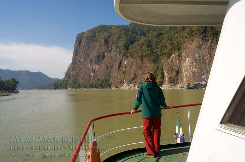 Myanmar Reisetipps | Schiffsreise Bhamo nach Mandalay | Rückblick
