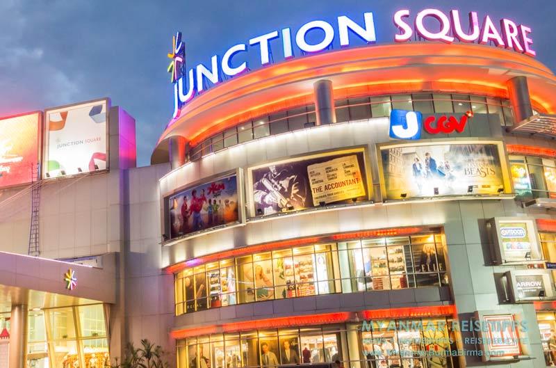 Myanmar Reisetipps | Im Junction Square sind alle gängigen Hygieneartikel erhältlich.