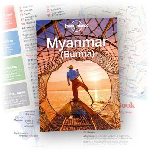 Reiseführer Myanmar Lonely Planet