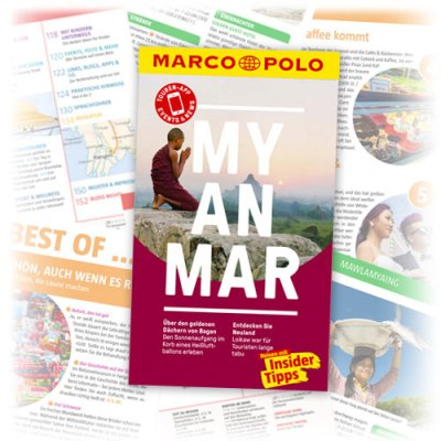 Reiseführer Marco Polo Myanmar 2017