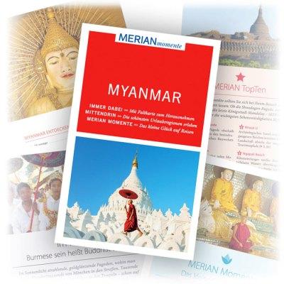 Reiseführer Merian Momente Myanmar