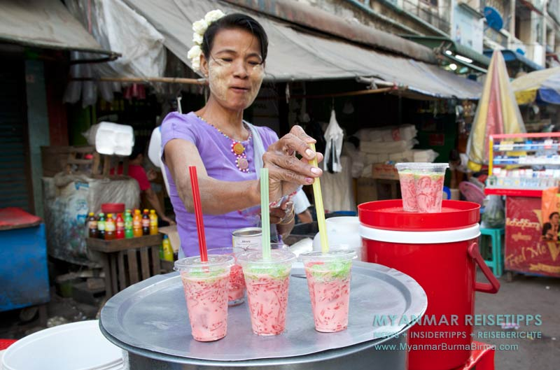 Myanmar Reisetipps | Wasser, Bier und Softdrinks