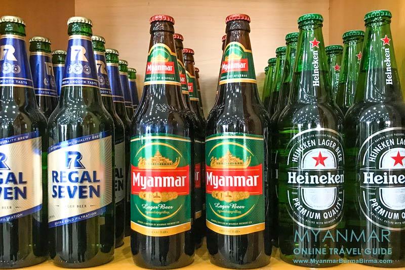 Myanmar Reisetipps | Getränke | Diverse Biersorten