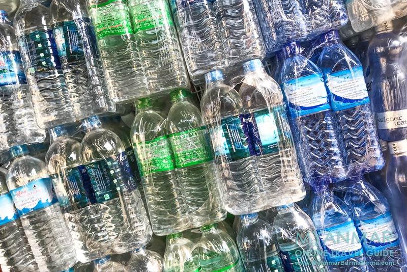 Myanmar Reisetipps | Getränke | Trinkwasser