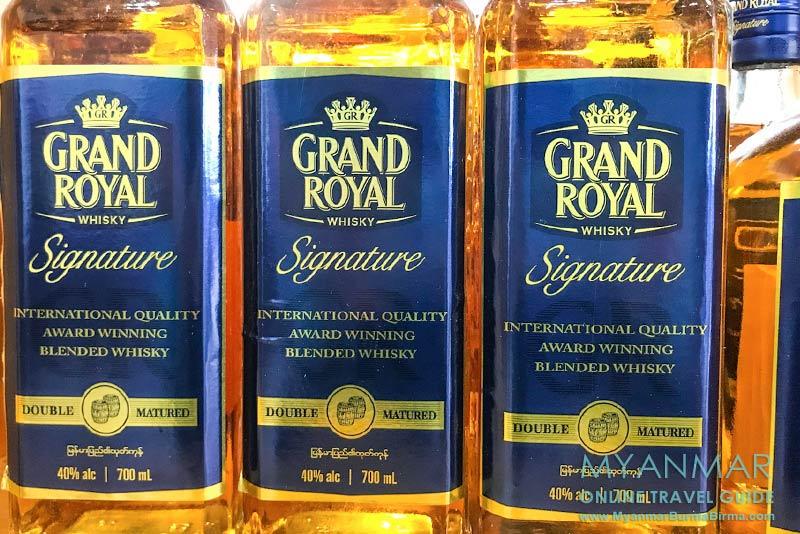 Myanmar | Getränke | Whisky