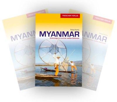 Reiseführer Myanmar Trescher Verlag
