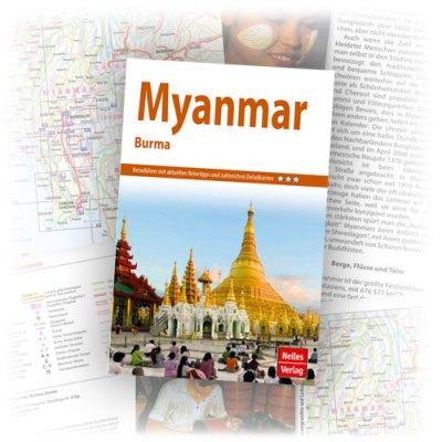 Reiseführer Myanmar Nelles Guide