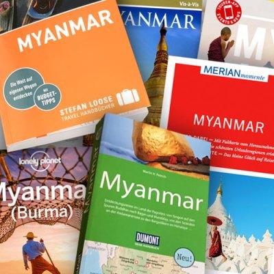 Die aktuellen Reiseführer für Myanmar