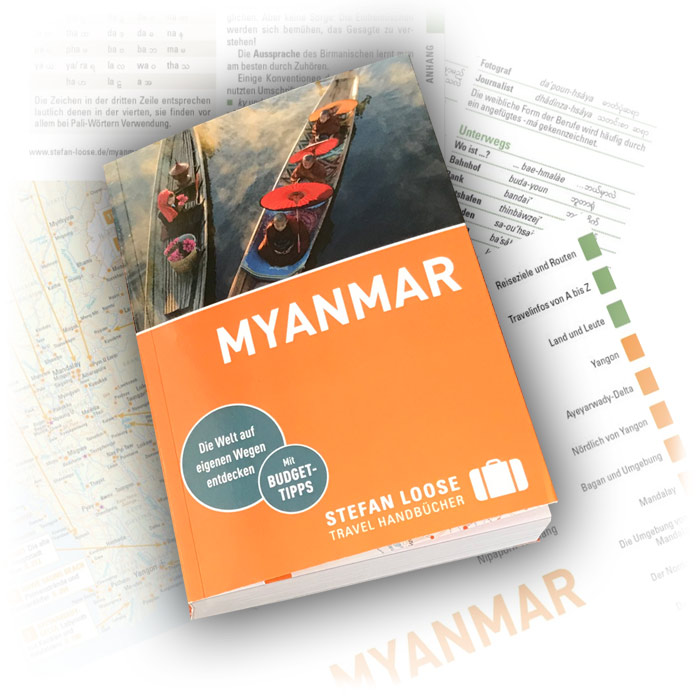 Auflage 2018 vom Stefan Loose Myanmar