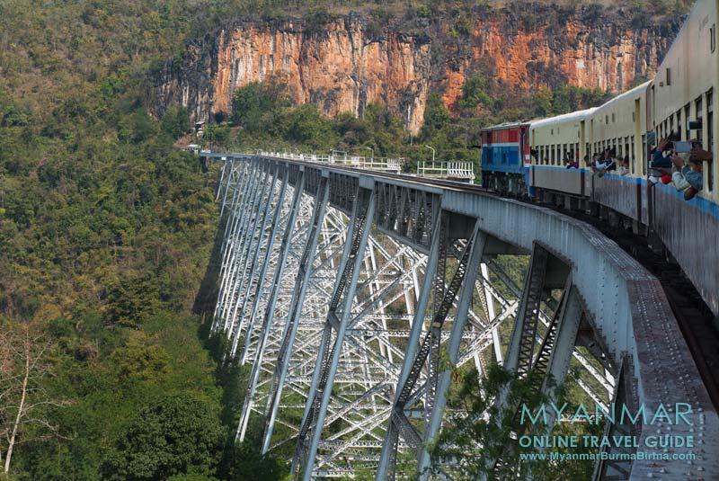 Myanmar Reisetipps | Zwischen Pyin U Lwin und Hsipaw | Gokteik Viadukt