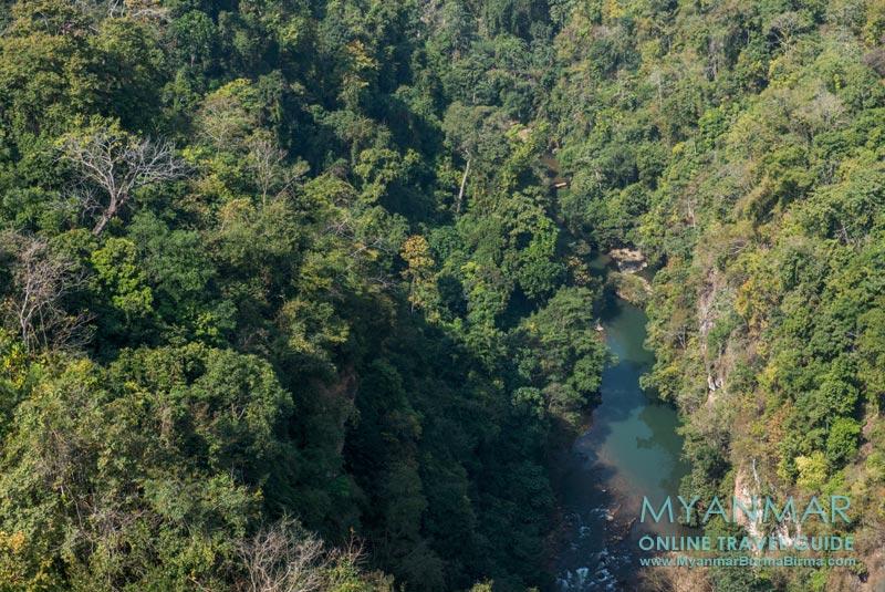 Myanmar Reisetipps | Zwischen Pyin U Lwin und Hsipaw | Blick vom Gokteik Viadukt