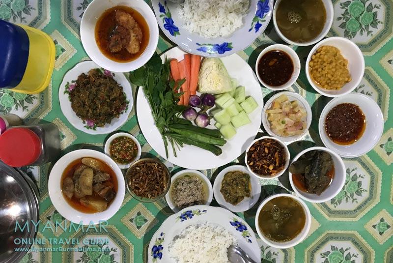 Myanmar Reisetipps | Hsipaw | Essen in Hsipaw
