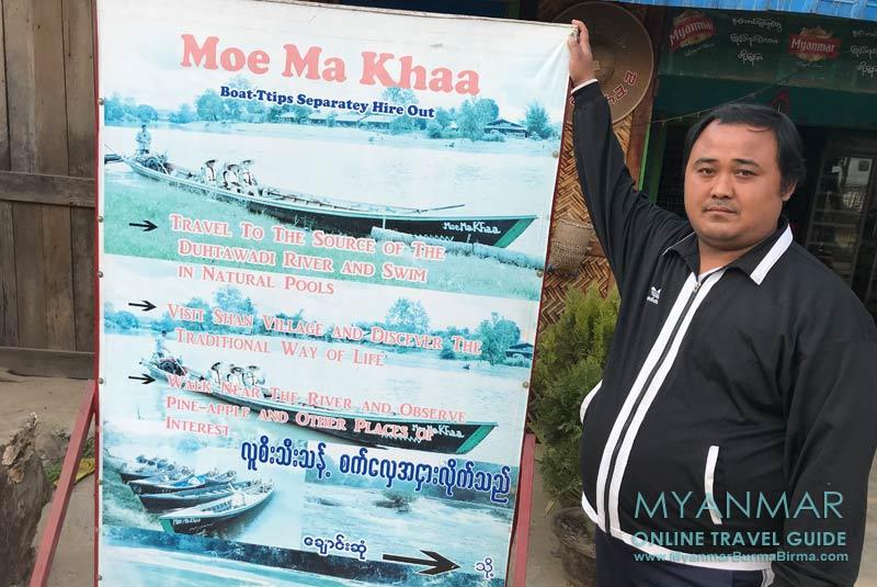 Myanmar Reisetipps | Hsipaw | Bootstouren mit Mr. Faty