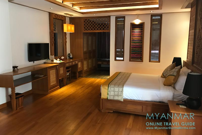 Myanmar Reisetipps | Hsipaw | Doppelzimmer im Hotel Thipaw