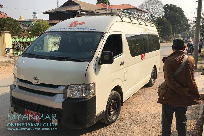 Myanmar Reisetipps | Hsipaw | Minivan zum Inle-See nach Nyaungshwe