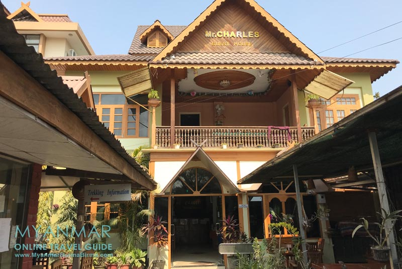 Myanmar Reisetipps | Hsipaw | Mr. Charles Guest House und Hotel