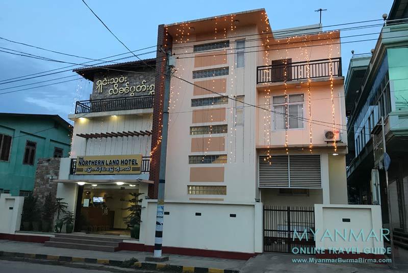Myanmar Reisetipps | Hsipaw | Northern Land Hotel
