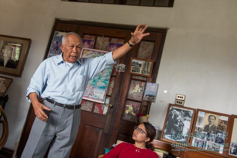 Myanmar Reisetipps | Hsipaw | Mr. Donald (Sao Oo Kya) im Shan Palast (Haw Sao Pha)