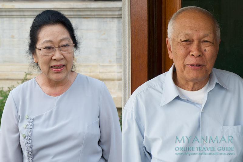 Myanmar Reisetipps | Hsipaw | Fern und Donald im Shan Palast (Haw Sao Pha)