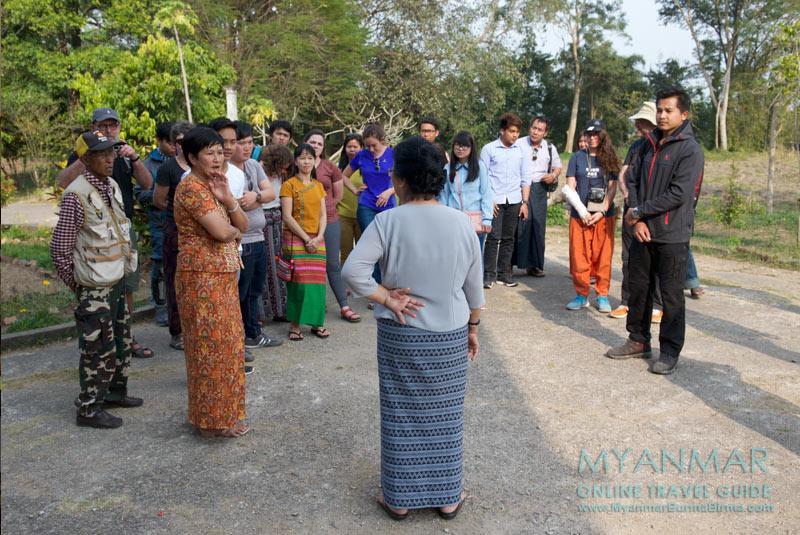 Myanmar Reisetipps | Hsipaw | Fern (Sao Sarm Hpong) im Shan Palast (Haw Sao Pha)