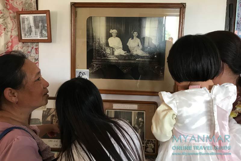 Myanmar Reisetipps | Hsipaw | Foto vom Shan-Fürst Sao Kya Seng mit seiner Frau Inge Sargent