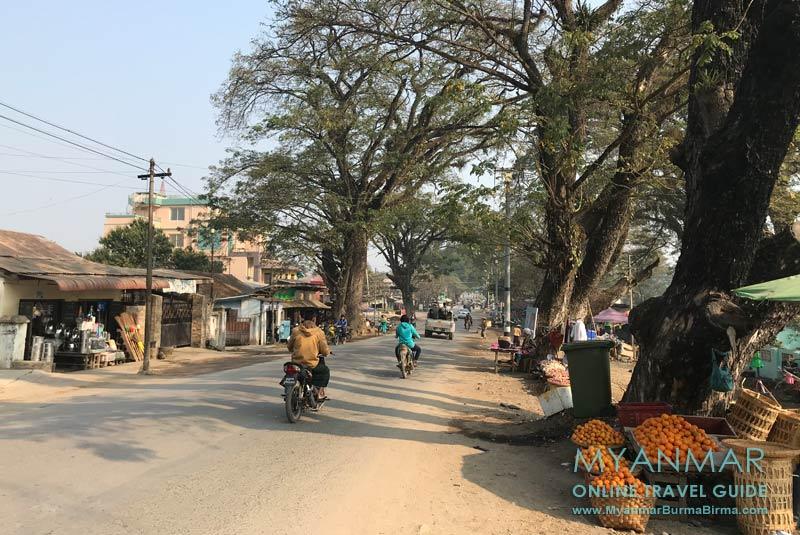 Myanmar Reisetipps | Hsipaw | Straßenszene