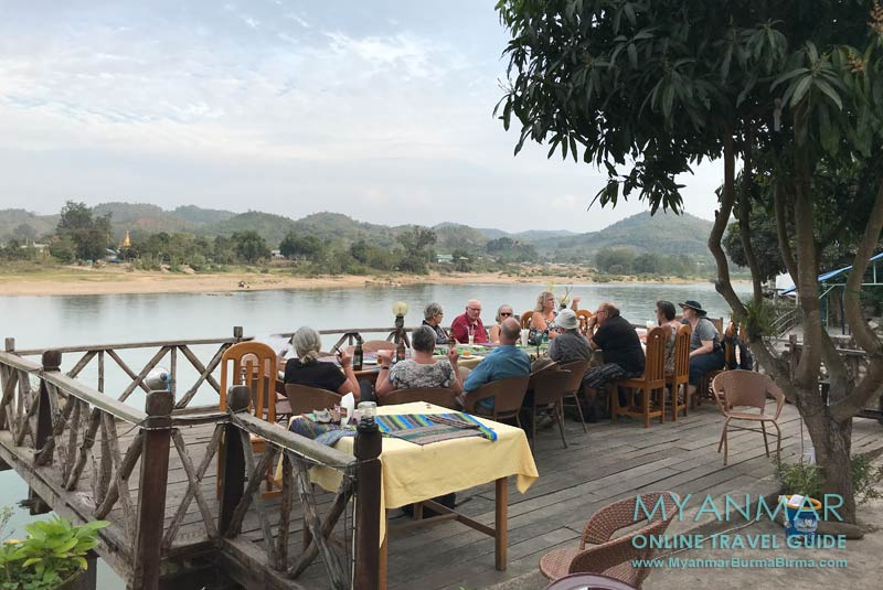 Myanmar Reisetipps | Hsipaw | The Club Terrace