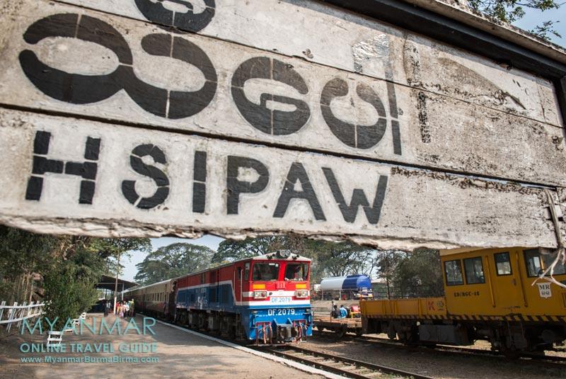 Myanmar Reisetipps | Hsipaw | Zug nach Mandalay