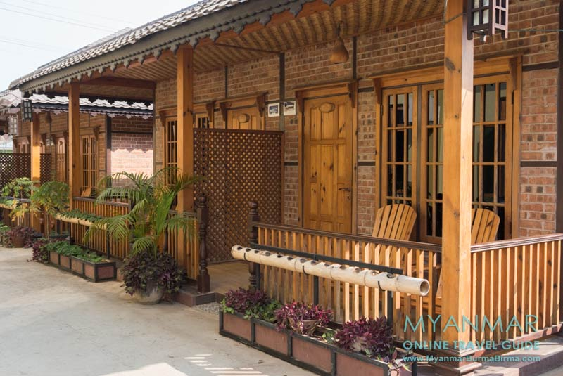 Myanmar Reisetipps | Hsipaw | Bungalow vom Golden Guest Hotel