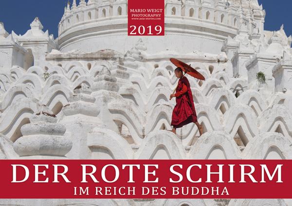 Kalender 2019 Der rote Schirm