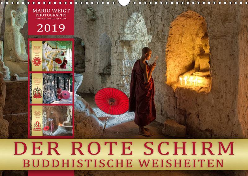 Kalender 2019 • DER ROTE SCHIRM - BUDDHISTISCHE