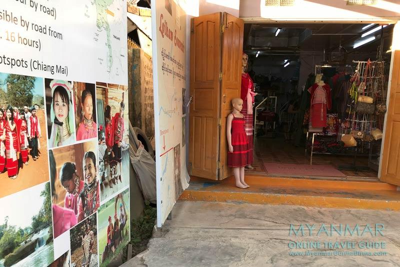 Myanmar Reisetipps   Loikaw   Reisebüro, Taxiservice und Motorbike-Verleih