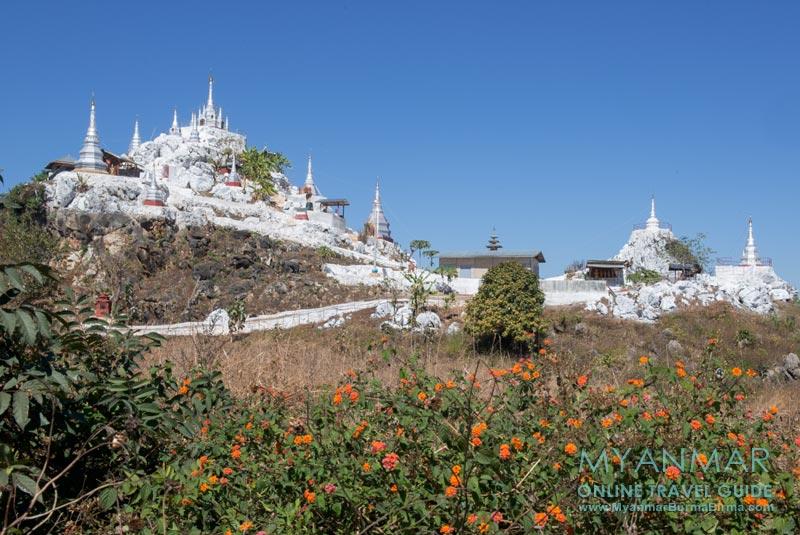 Myanmar Reisetipps   Loikaw   Zwischenstopp an der White Pagoda