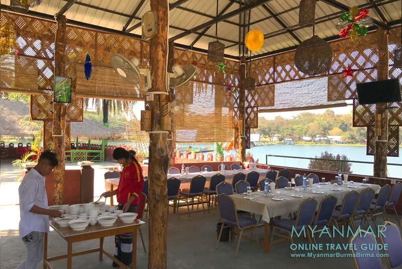 Myanmar Reisetipps   Loikaw   Restaurant Red Dynasty