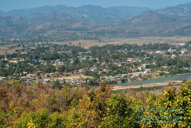 Myanmar Reisetipps | Hsipaw | Blick vom Buddha Hill