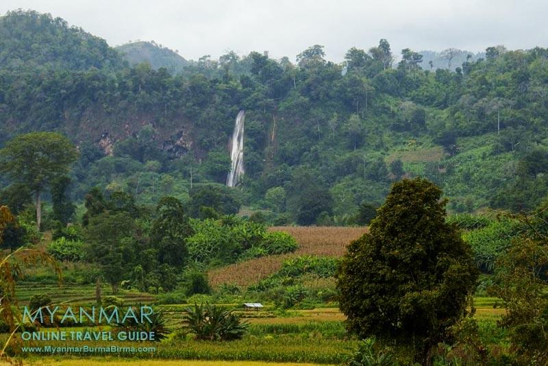 Myanmar Reisetipps | Hsipaw | Wanderung zum Wasserfall Nam Tok mit Jo Jo