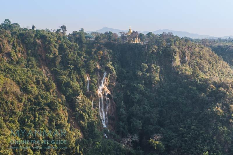 Myanmar Reisetipps | Pyin U Lwin | Wasserfall Dat Taw Gyaint | Blick vom Resort THE VIEW