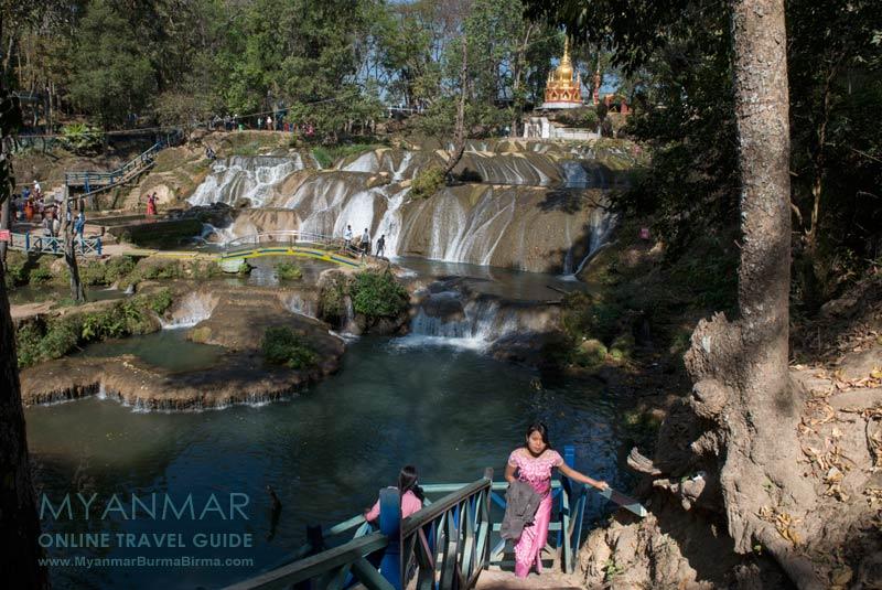 Myanmar Reisetipps | Pyin U Lwin | Pwe Kauk Wasserfall