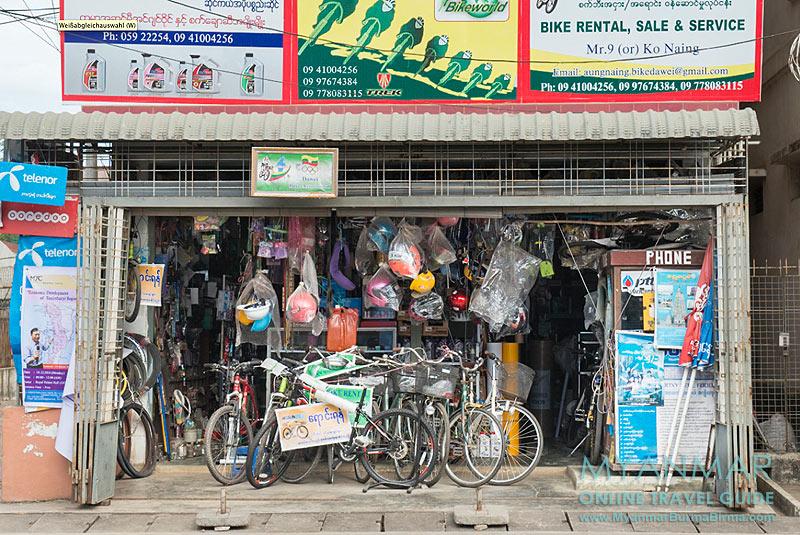 Myanmar Reisetipps | Dawei | Fahrradverleih: Mountain King Bike Rental Service