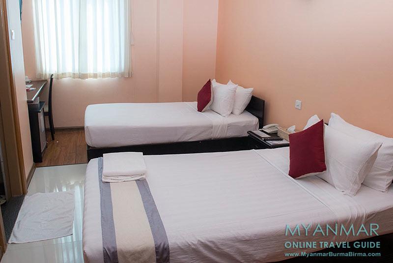 Myanmar Reisetipps | Dawei | Zimmer im Golden Guest Hotel