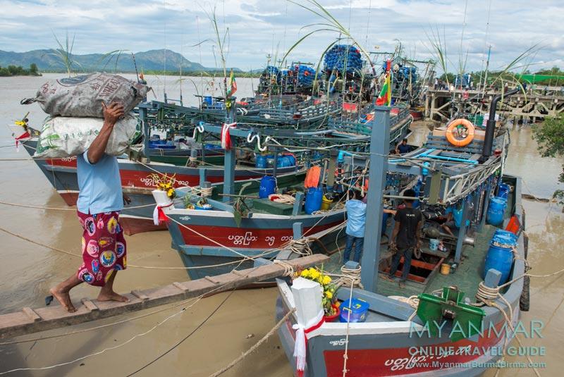 Myanmar Reisetipps | Dawei | Hafen von Dawei