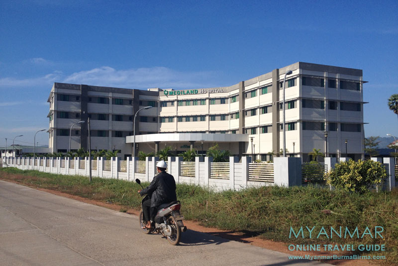 Myanmar Reisetipps | Dawei | Mediland Hospital