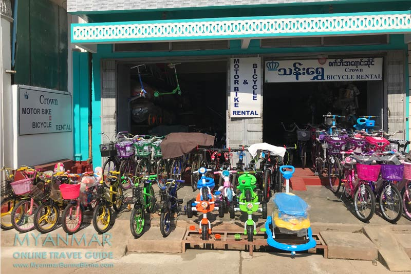 Myanmar Reisetipps | Pyin U Lwin | Crown Bicycle + Motorbike Rental