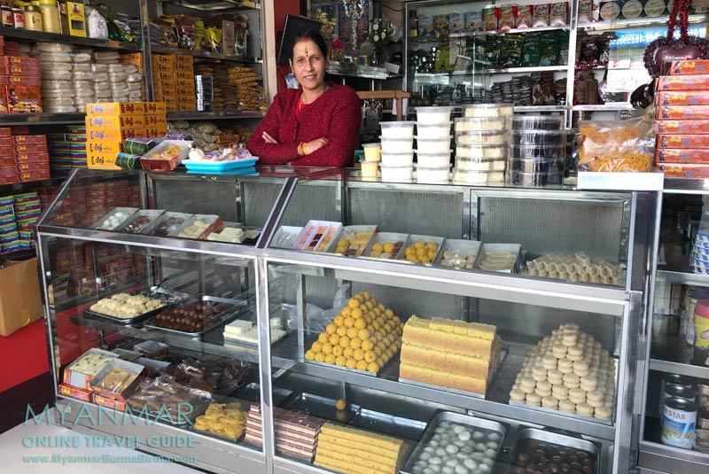 Myanmar Reisetipps | Pyin U Lwin | Parami Malai Sweets Shop