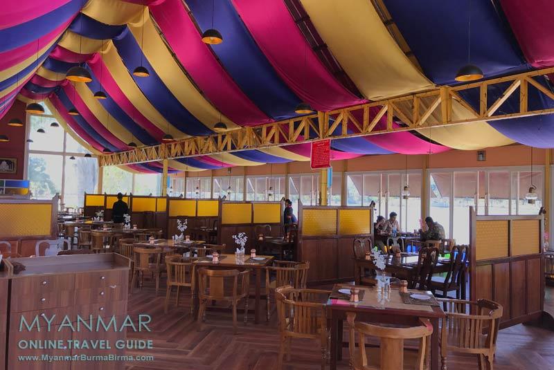 Myanmar Reisetipps | Pyin U Lwin | Restaurant The Taj